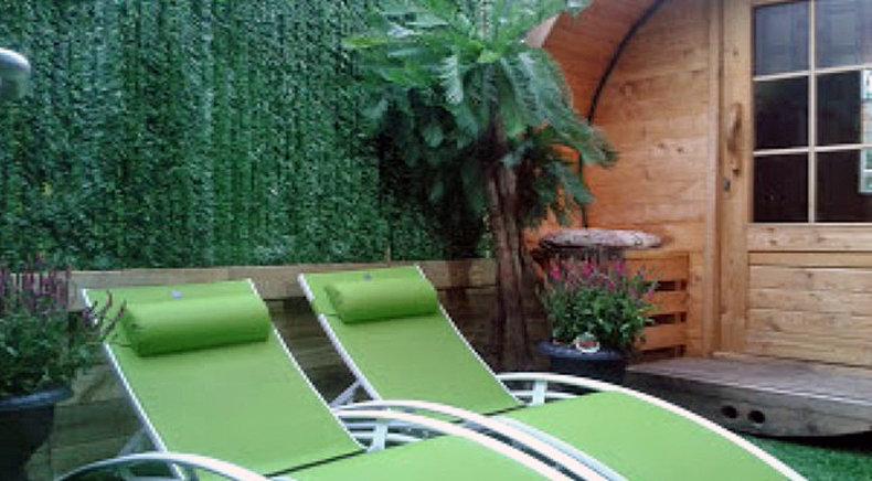 Taxus kunsthecke auf Rolle Sichtschutz, windschutz, verkleidung für balkon terrasse und zaun
