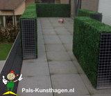 kunsthaag terrasscherm