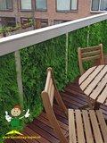 Tropische bladerendecoratie_