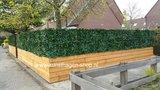 kunsthaag als tuinscherm