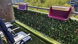 kunsthaag balkonscherm