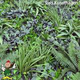 Jungle green kunsthaag