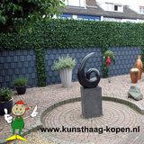 kunsthaag als tuinscherm verhoging