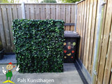 Artificial ivy hedge_